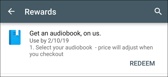 Check the Play Store's Settings for Freebies You May Have Forgotten