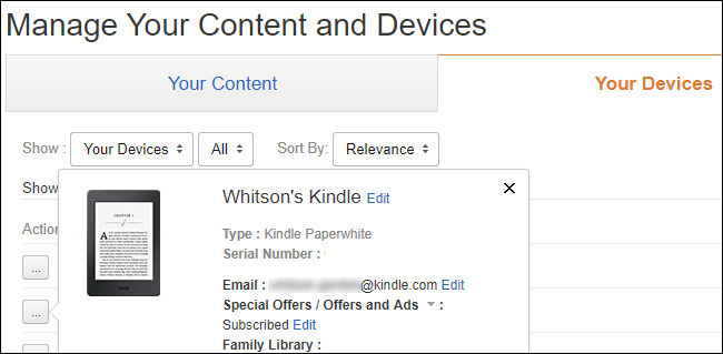 """Click the """"Add Email"""" button and enter your Kindle's email address"""