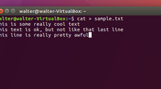 How to Quickly Create a Text File Using the Command Line in Linux