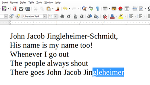 How to Use, Customize, or Disable AutoComplete in LibreOffice Writer