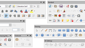 How to Dock and Undock Toolbars In LibreOffice