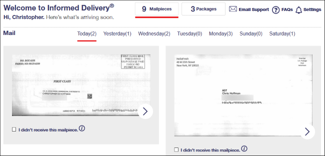 How to See What Packages and Mail You Have Coming Before It