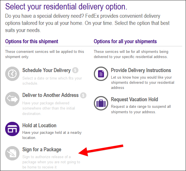 How To Sign For A Package Online So You Don T Have To Wait At Home