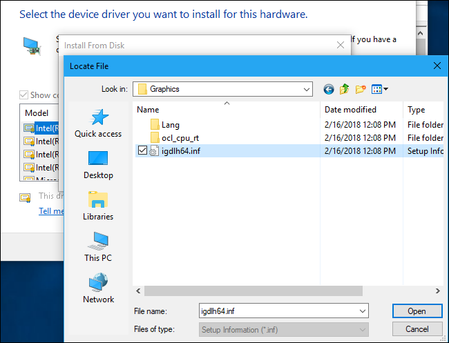 intel hd graphics driver for windows 10 64 bit toshiba