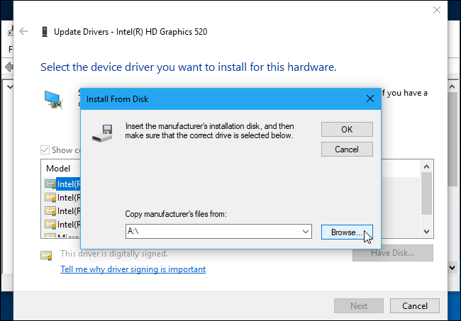 "How to Fix ""The Driver Being Installed Is Not Validated For"