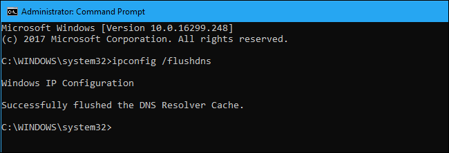 Troubleshoot Browsing Issues by Reloading the DNS Client Cache on Windows