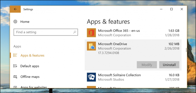 How to disable onedrive popup windows 10