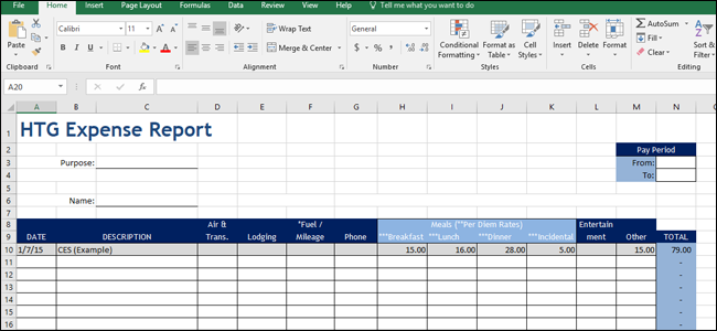 How To Create Custom Templates In Excel - Excel templates