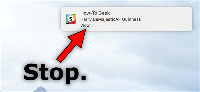 turn off notification sounds mac