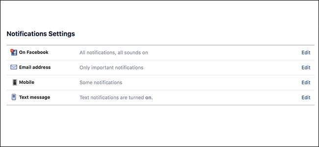 How to Disable and Customize Facebook's Notifications, Texts