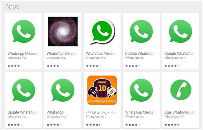 Beware Of Fake WhatsApp Apps On Play Store — Millions Have ... |Fake Apps
