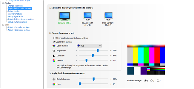 how to calibrate dual monitors mac