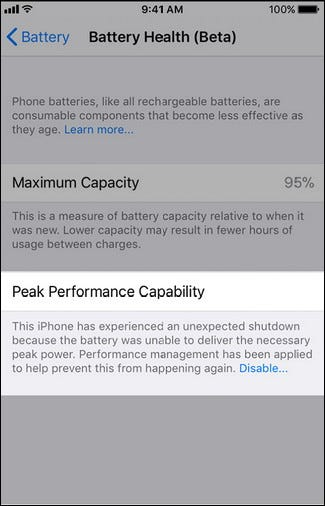 How to Disable Your iPhone's CPU Throttling in iOS 11.3