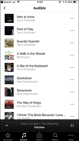 How to Listen to Audible Audiobooks on Your Sonos