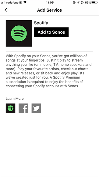 How to Use Spotify on Your Sonos Speaker