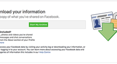 Facebook's 'Download Your Data' Feature Leaves Out a Lot