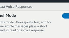 What Is Alexa's Brief Mode and How Do I Turn It On (or Off)?