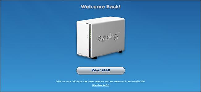 Synology DS107e DSM Mac