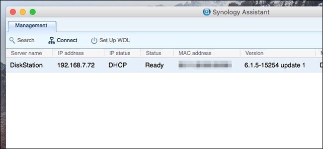 synology assistant