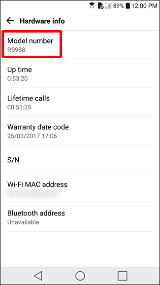 How to Find Out What Model of Android Phone You Have