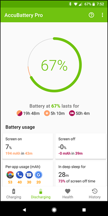 Best app to monitor battery usage