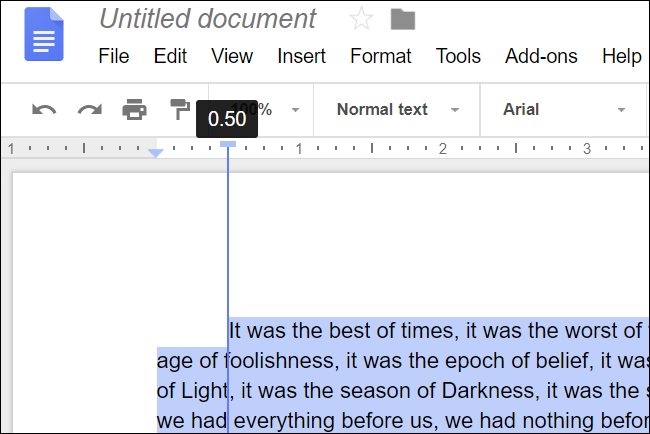 You Can Use The Left Indent Marker If Want To All Lines Of Any Selected Paragraphs From Margin Select Your And Then