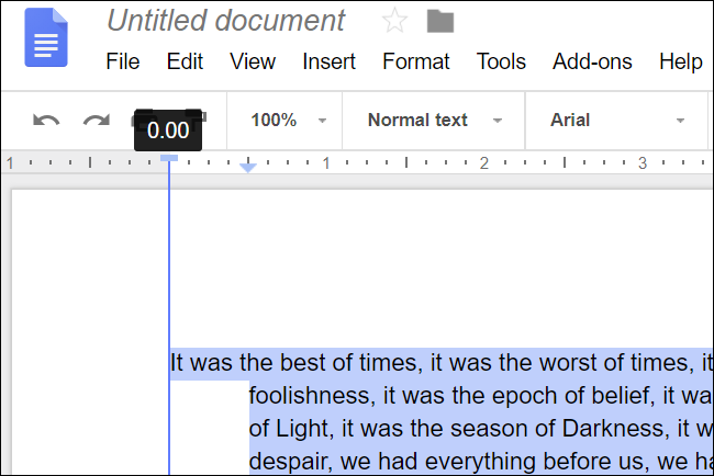 How To Indent Paragraphs In Google Docs