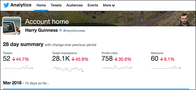 can you see who has viewed your twitter page