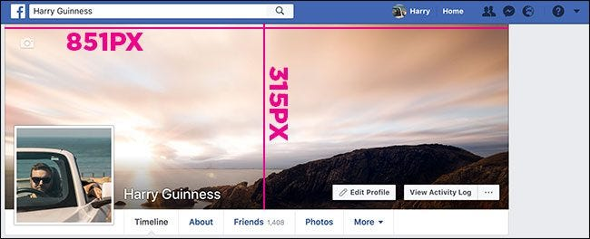 Facebook Cover Photo Size