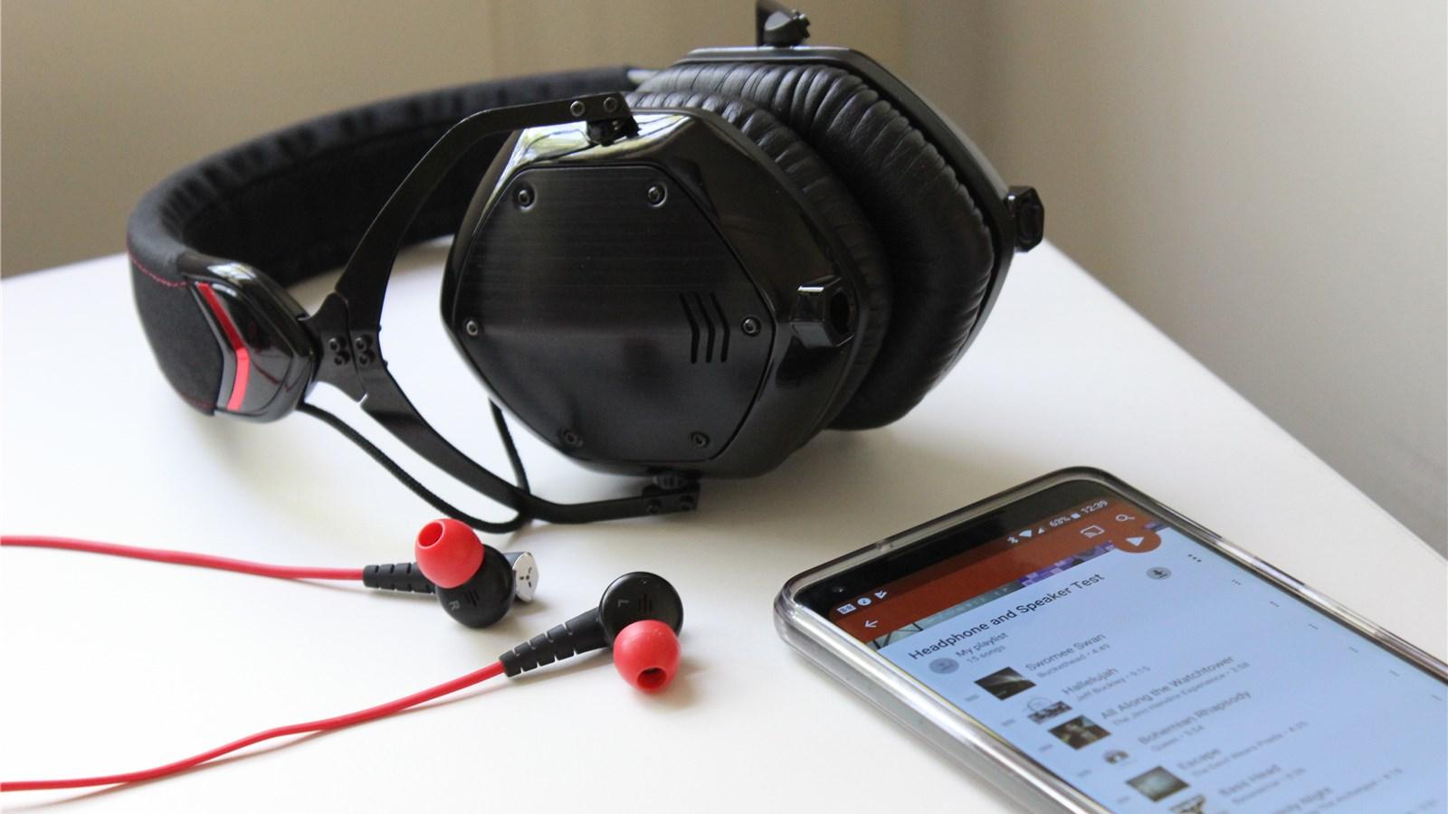 Verwenden Sie diese Playlist, um Ihre neuen Kopfhörer