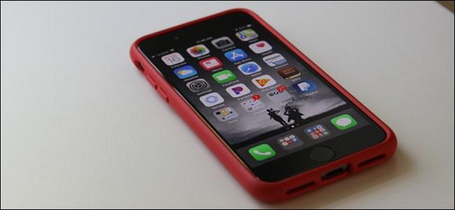 Ein Android-Nutzer nehmen auf dem iPhone
