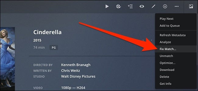 How to Fix Plex Showing the Wrong Movie or TV Show