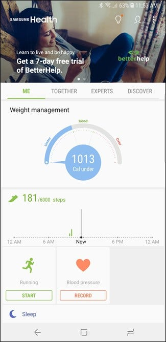 What Can You Do with Samsung Health?