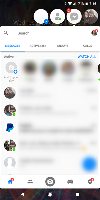 How to Disable Facebook Messenger Chat Head Icons on Android