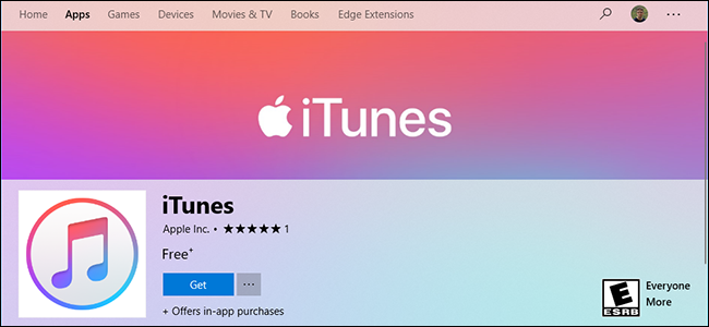 db9c80893a iTunes Is Now in the Microsoft Store