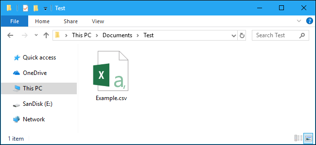 What Is a CSV File, and How Do I Open It? Example Of A Csv File Format Comma Delimited on
