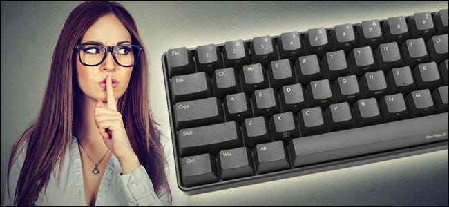 "How To ""Silence"" Your Noisy Mechanical Keyboard"