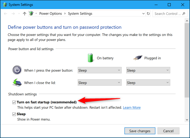 Shutting Down Doesn't Fully Shut Down Windows 10 (But