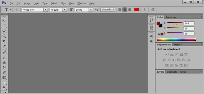How To Set the Default Font in Photoshop and Illustrator