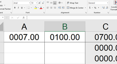 How To Force Microsoft Excel To Show Leading Zeroes