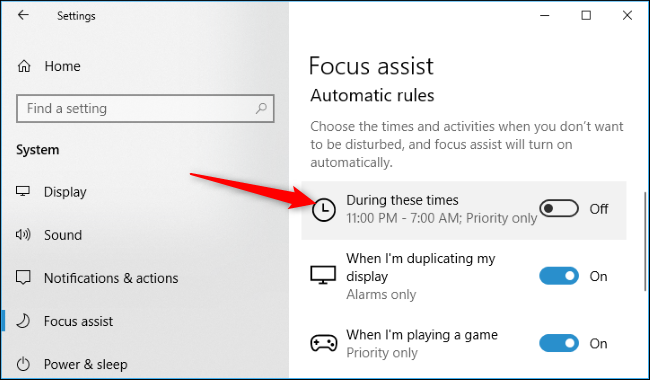 How to Use Focus Assist (Do Not Disturb Mode) on Windows 10