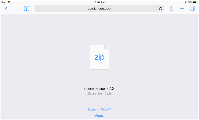 How to Install Fonts on an iPad or iPhone