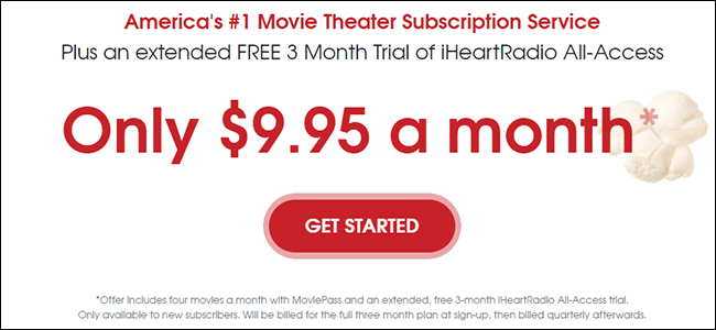MoviePass Was a Great Deal, Now It's Trying Really Hard Not To Be