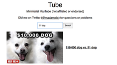 Tube Is YouTube Without Any Attention Stealing Clutter