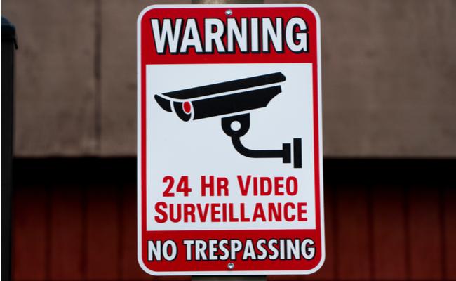 Video recording in progress sign