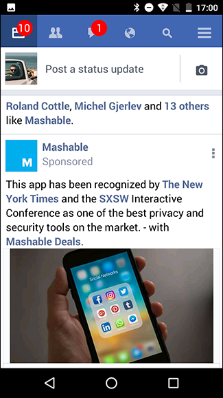 Whats the difference between facebook and facebook lite in the screenshots here facebook lite is on the left and the regular app is on the right stopboris Images