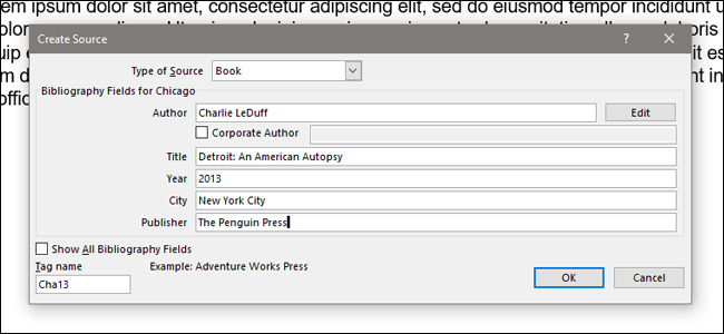 how to automatically add citations and bibliographies to microsoft word
