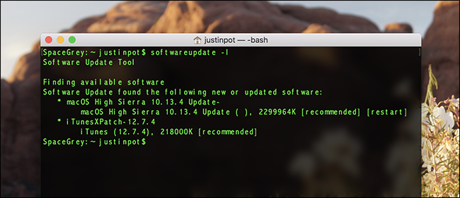 How to Download macOS Updates Using The Terminal