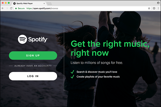 How to Listen to Spotify With Just Your Web Browser