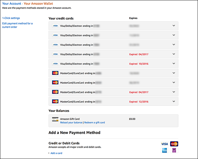 How to Change Your Default Credit Card on Amazon (And Clean Up the List)